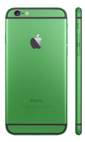 GREEN for iPhone 6S PLUS - HautePhones - 5