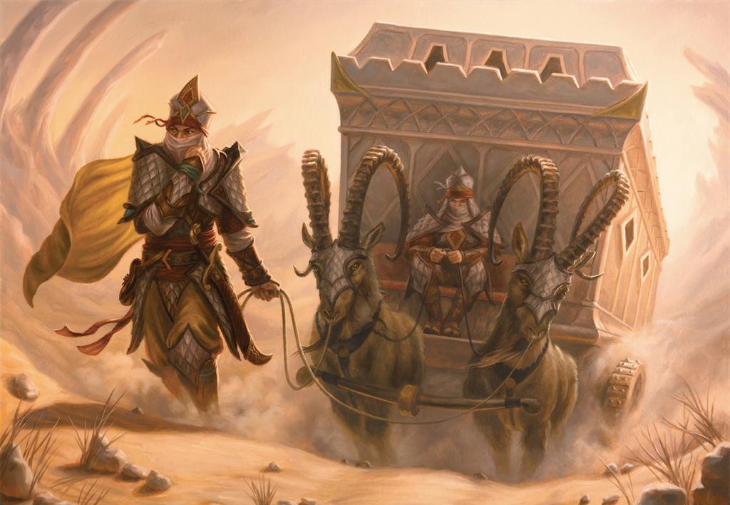Khans of Tarkir - Salt Road Patrol