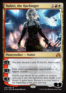 Nahiri, the Harbinger - Shadows over Innistrad