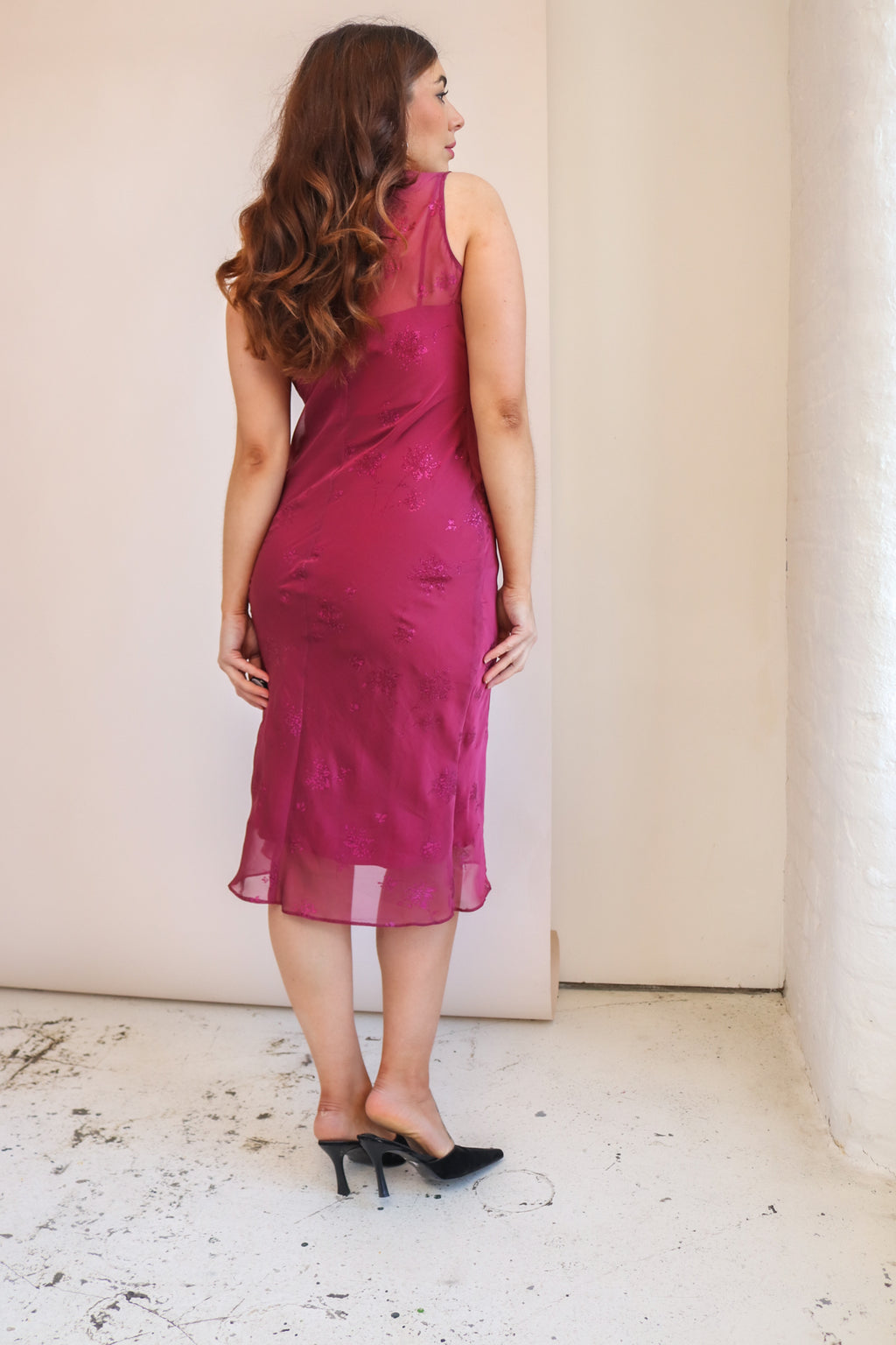 VintageSequin Blouse in Zebra Print - Dirty Disco
