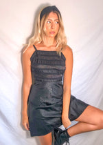VintageMini Dress in Black - Dirty Disco