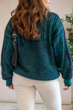 VintageJumper in Sea Green - M - Dirty Disco