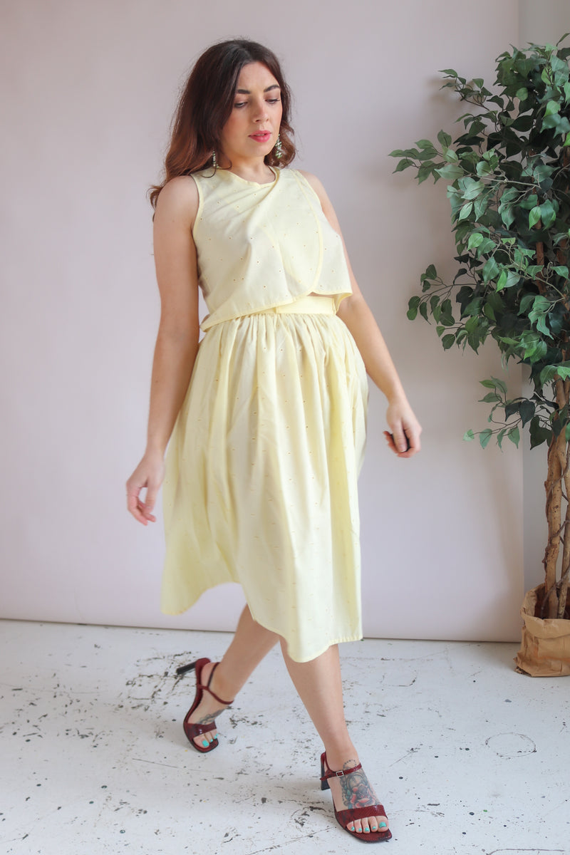 Two Piece in Lemon Yellow - XS
