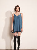 Double Layer Cami Mini Dress