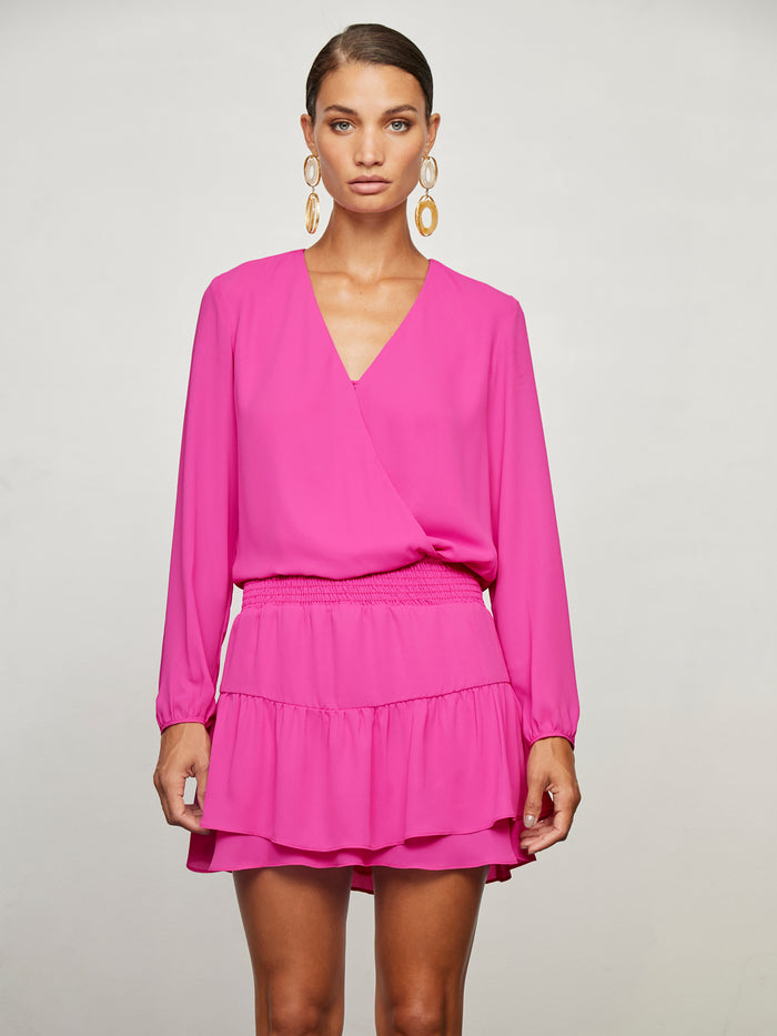 Smocked Surplice Mini