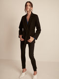 Shadow Black, Black, Blazer, Belted Blazer