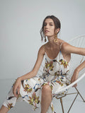 Bloom Floral, Floral, Dress, Midi