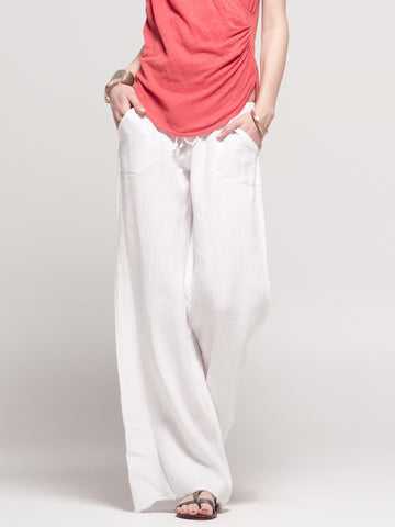 Pocket Wide Leg Pant