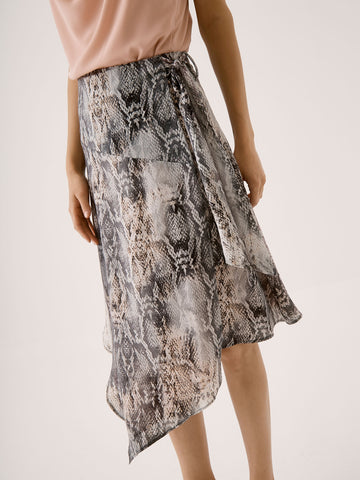 Handkerchief Wrap Skirt