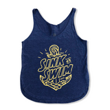 Sink or Swim Ladies Side Slit Tank