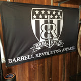 Gym Banner 3'x5' - Barbell Revolution Apparel - 2