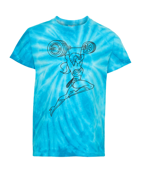 Weightlifting Woman Youth Tee