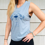Ghost Thrusters Ladies Muscle Tank