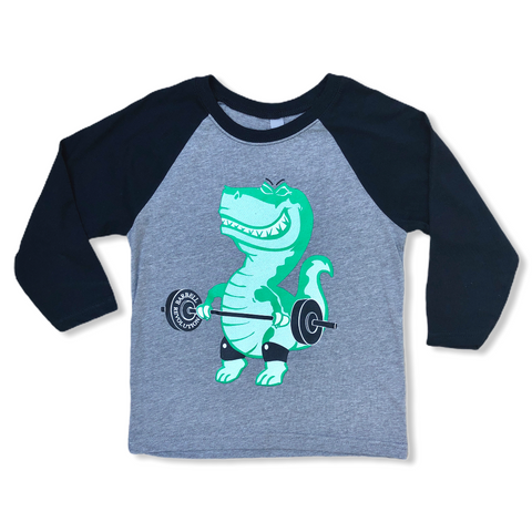 Snatch-A-Saurus Flex Youth Baseball Tee