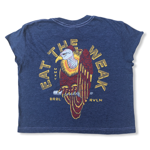 Eat The Weak Ladies Crop Tee