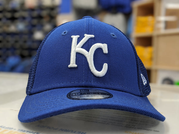 Kansas City Royals Youth 2020 39THIRTY Blue Hat by New Era