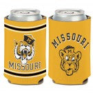 Missouri Tigers Throwback Gold- Can Coozi