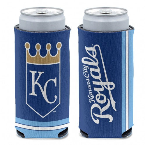 Kansas City Royals 12 oz. Slim Can 2 Sided Can Coozi by Wincraft