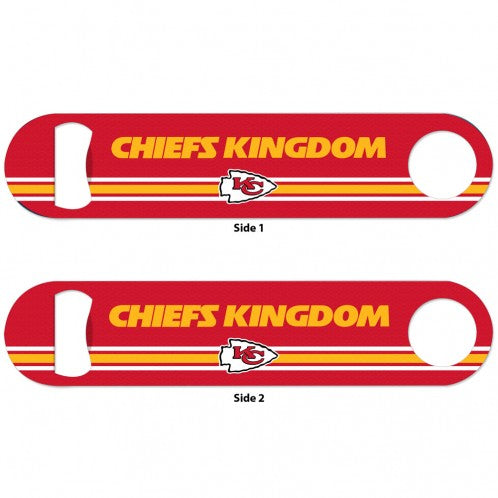 Kansas City Chiefs Bottle Stainless Steel Opener