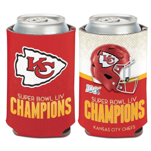 Kansas City Chiefs Super Bowl Can Coozi by WinCraft