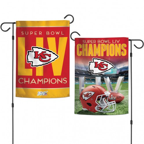Kansas City Chiefs SB Champs Garden Flag