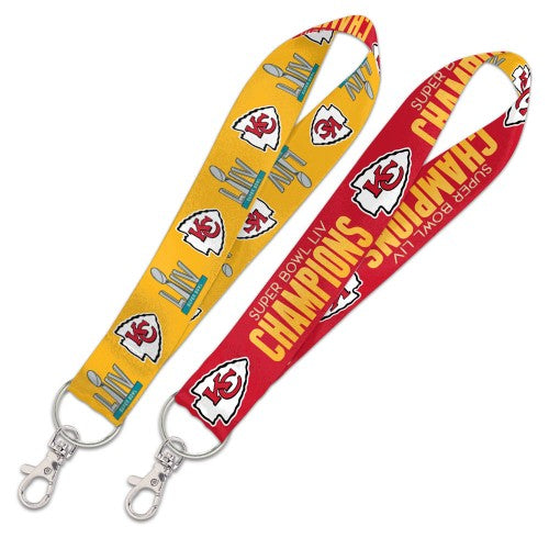 Kansas City Chiefs Super Bowl Keystrap by Wincraft