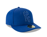 Kansas City Royals 59FIFTY Blue Low Profile Hat by New Era