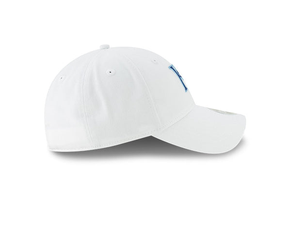 Kansas City Royals 2020 Women's 9TWENTY White w/Glitter KC Adjustable Cap by New Era