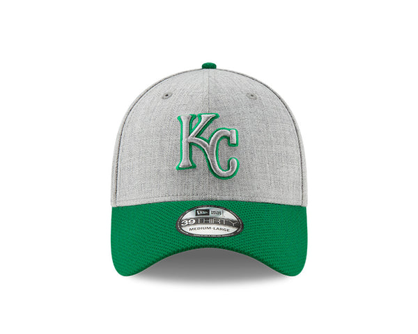 Kansas City Royals 2020 39THIRTY Gray with Green Bill Hat by New Era