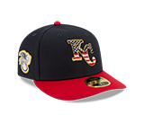 Kansas City Royals 2019 July 4th 59FIFTY LOW PROFILE Fitted Hat by New Era