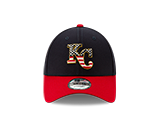 Kansas City Royals 2019 July 4th 9FORTY Adjustable Hat by New Era