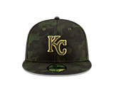 Kansas City Royals 2019 Arm Forces Day 59FIFTY Hat by New Era