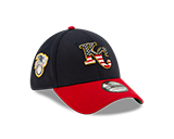 Kansas City Royals 2019 July 4th 39THIRTY Fitted Hat by New Era