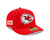 Kansas City Chiefs 2019 On Field 59FIFTY Low Profile Fitted Hat by New Era