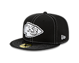 Kansas City Chiefs 2019 On Field Black Low Profile 59FIFTY Fitted Hat by New Era