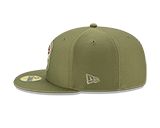 Kansas City Chiefs 2019 59FIFTY Salute to Service Hat by New Era