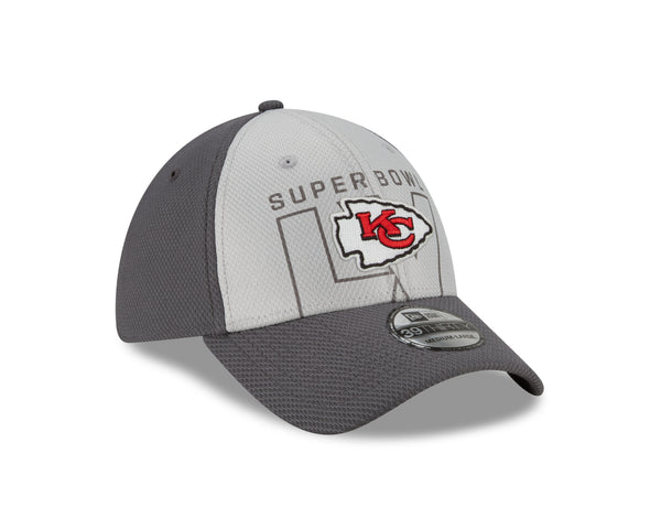Kansas City Chiefs 2021 39THIRTY Gray Super Bowl LV Participation Hat by New Era