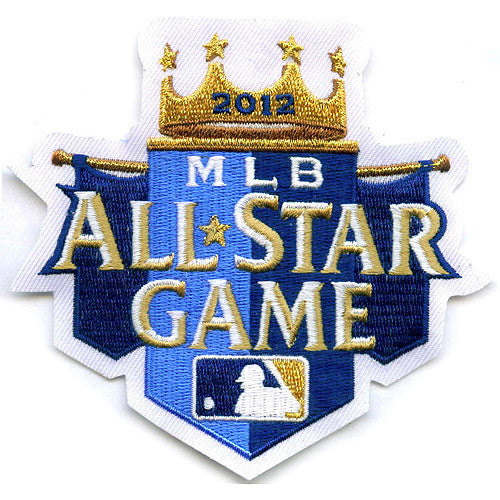Kansas City Royals 2012 All Star Game Sleeve Patch