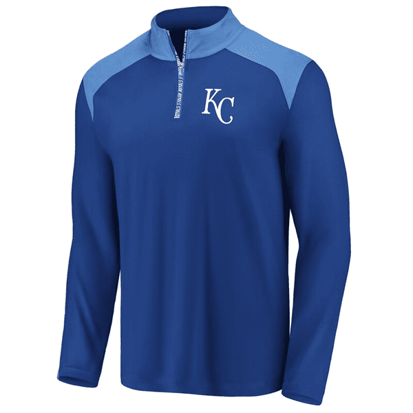 Kansas City Royals Iconic Clutch Quarter-Zip Pullover Jacket
