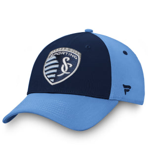 Sporting KC Iconic Defender Stretch Hat by Fanatics