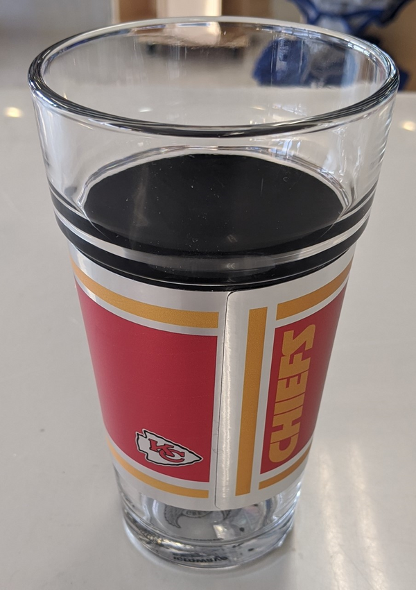 Kansas City Chiefs 16oz. LOGO Pint Glass
