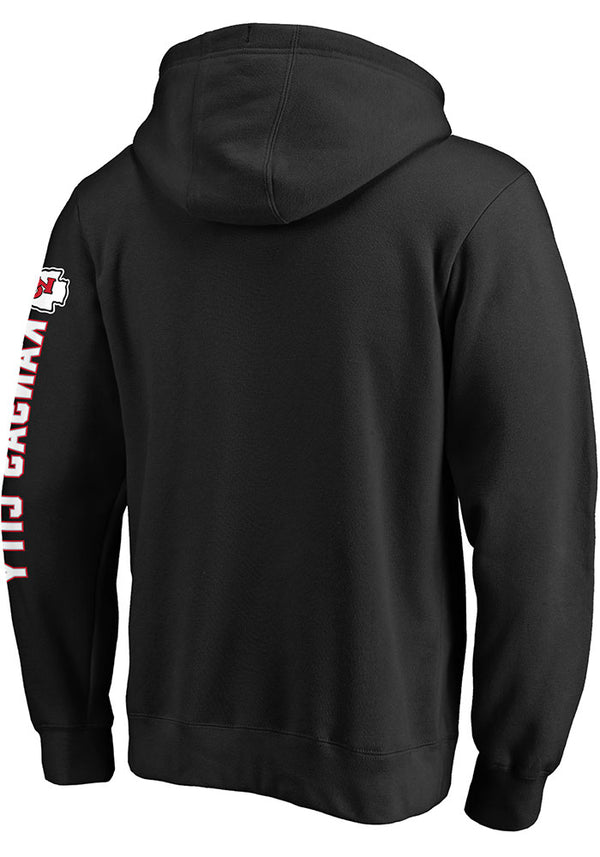 Kansas City Chiefs Black Super Bowl LIV Champions Hoodie by Fanatics