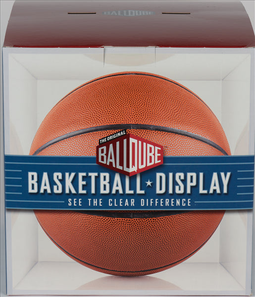Basketball Display Case (Clear Base) by Ballqube