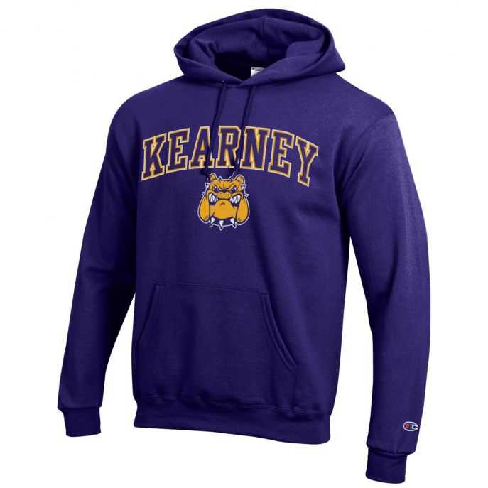 Kearney Bulldogs Powerblend Fleece Hood Sweatshirt by Champion