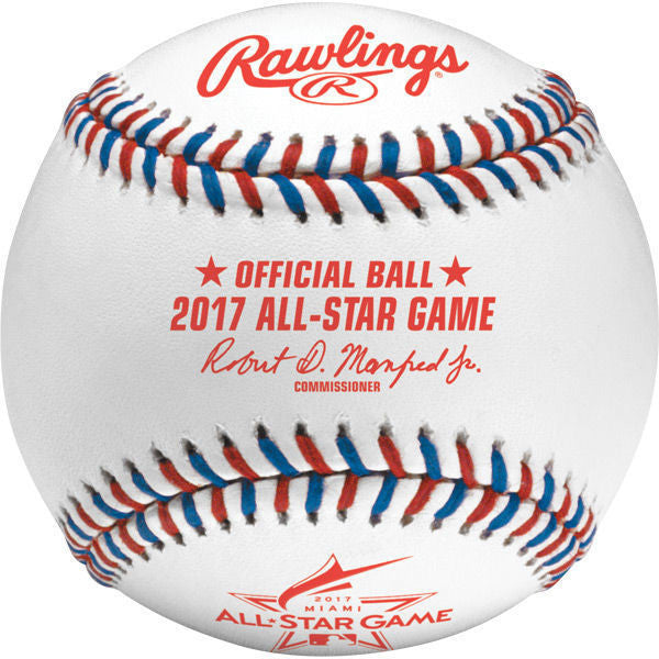 2017 Official All Star Game Baseball by Rawlings
