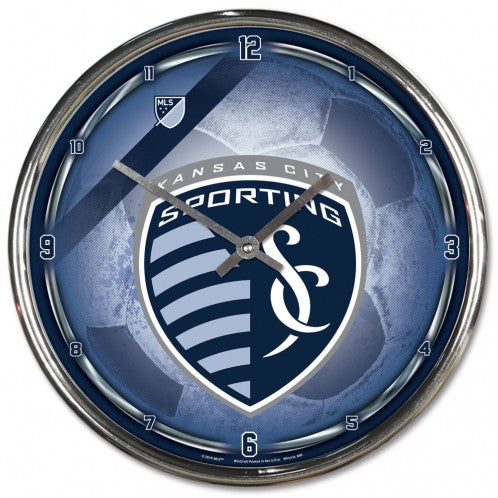 Sporting Kansas City Chrome Clock by Wincraft