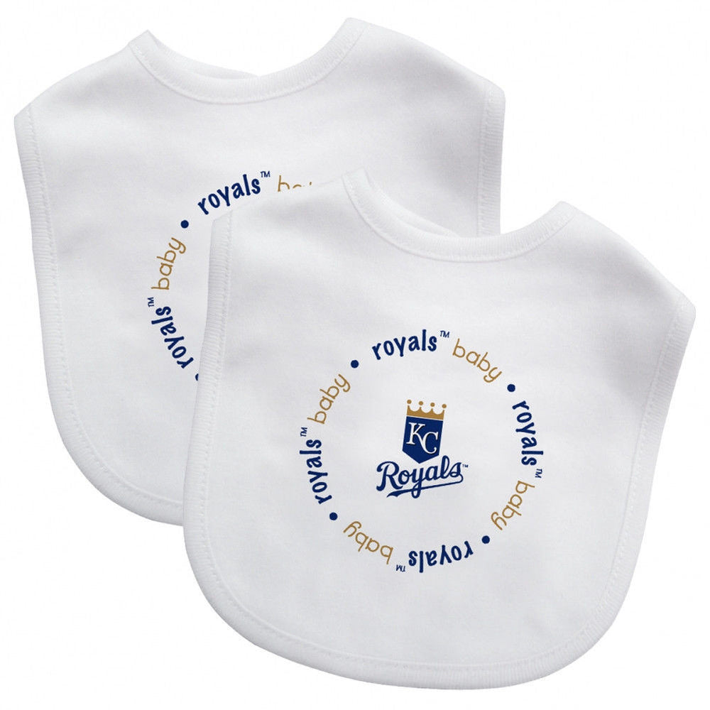 Kansas City Royals 2 Pack Baby Bib