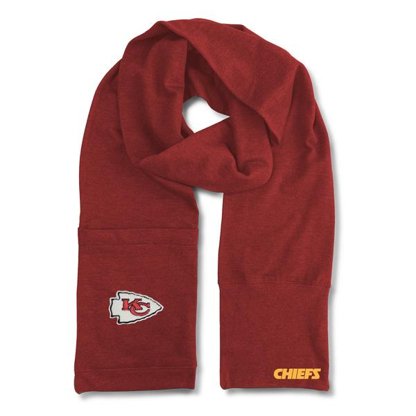 Kansas City Chiefs Jimmy Bean 4 in 1 Scarf by Littlearth