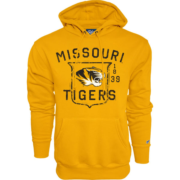 Missouri Tigers Gold Hamden Hooded Sweatshirt by Blue 84