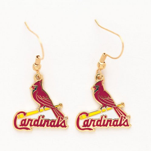 St Cardinals Dangle Earrings by Wincraft